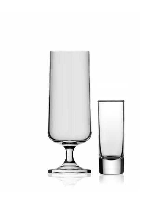Ölglas ölpokal och snapsglas Glasspecialisten