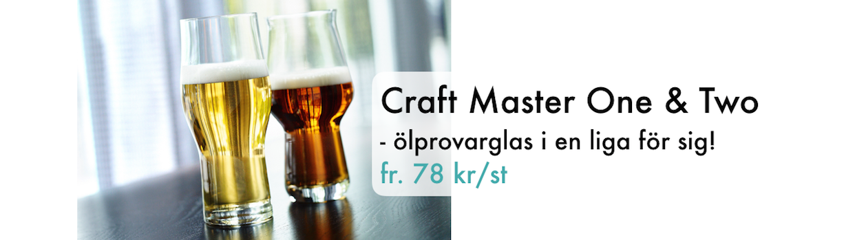 Craft Master One och Two Glasspecialisten